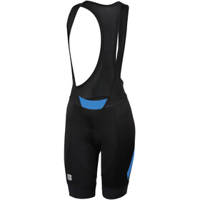 Sportful Neo Bib Shorts Damen black/parrot blue